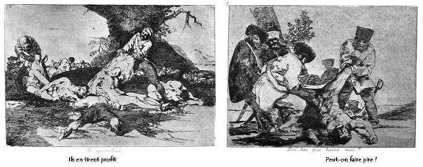 Goya Désastres de la guerre