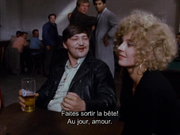 Fassbinder avec Hanna Schygulla