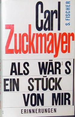 Zuckmayer_Autobiografie_1968