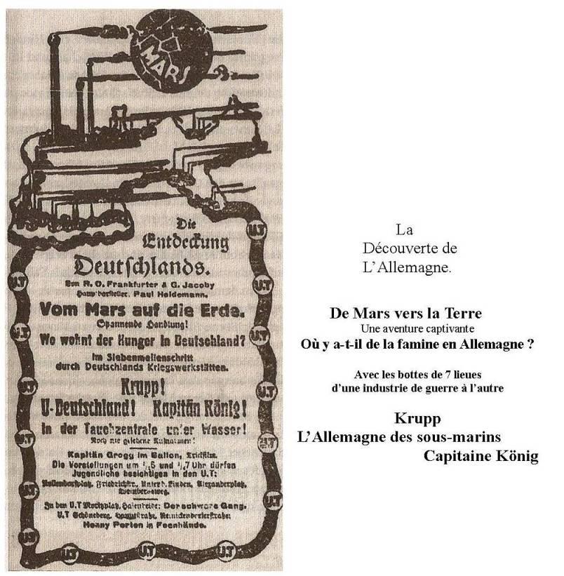 Annonce dans la BZ am Mittag du 22.2.1917