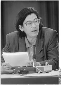 Berlin, int. Schriftstellergespräch, Christa Wolf