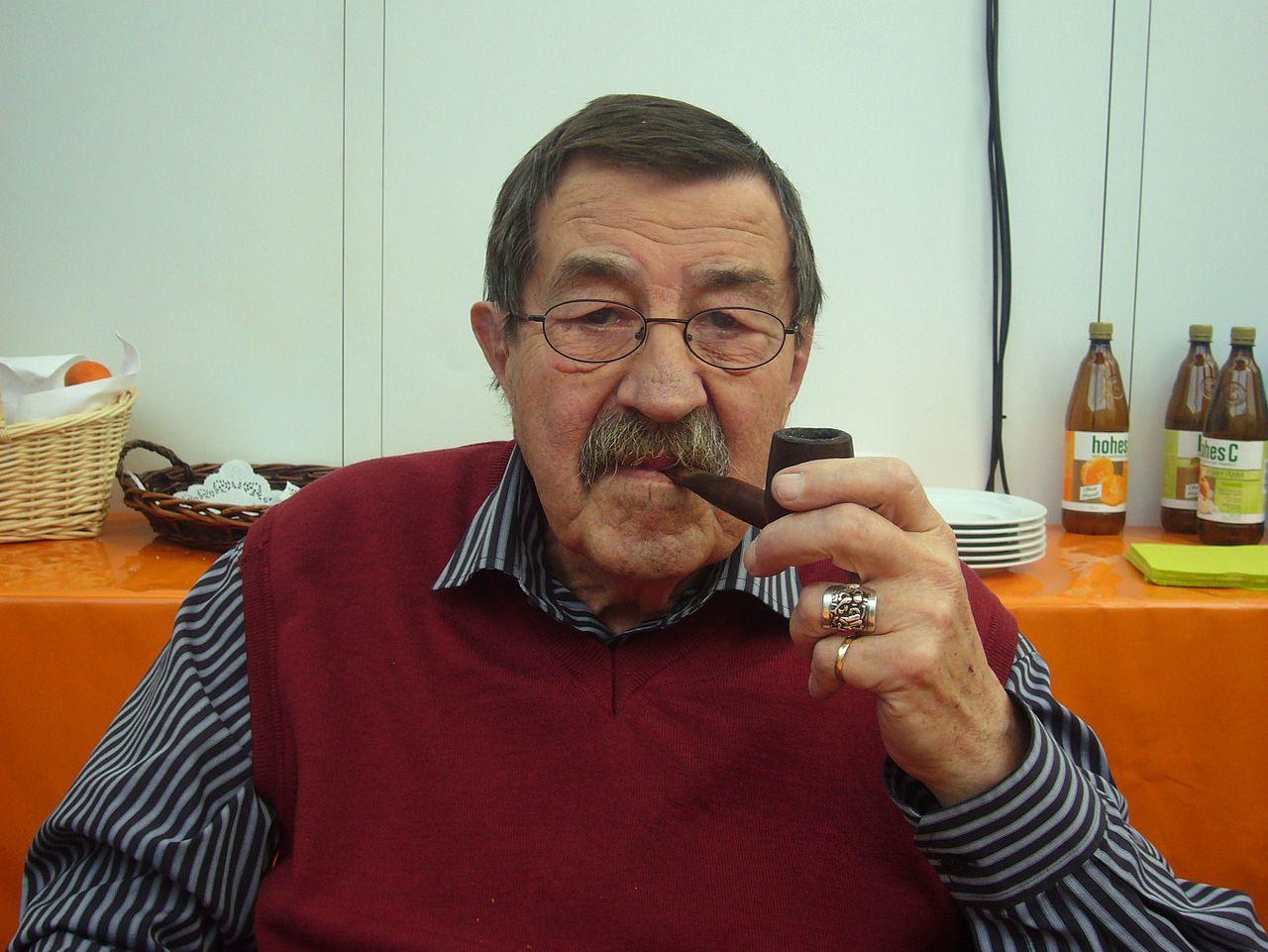 Günter Grass beim Blauen Sofa