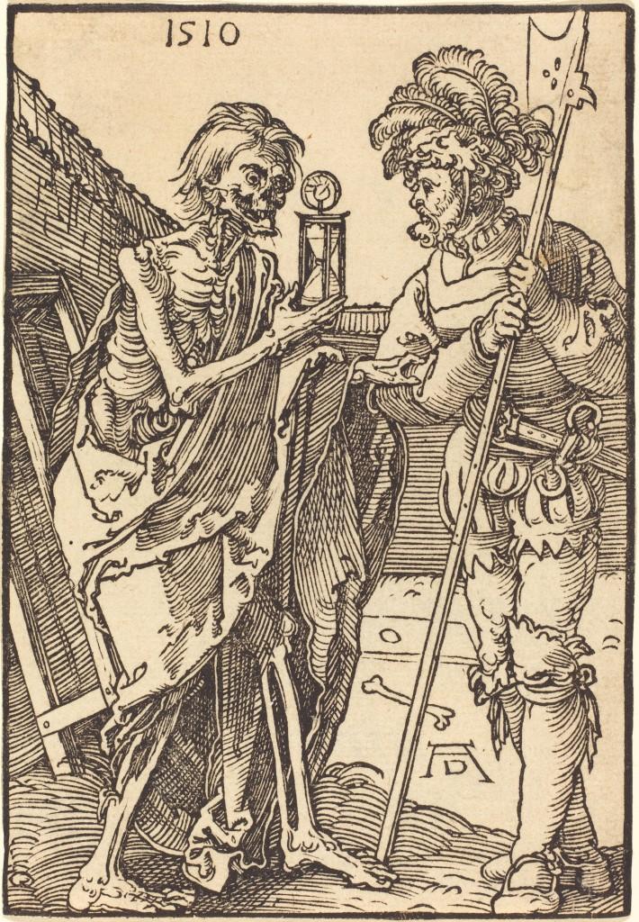 Albrecht Dürer: La mort et le lansquenet 1510