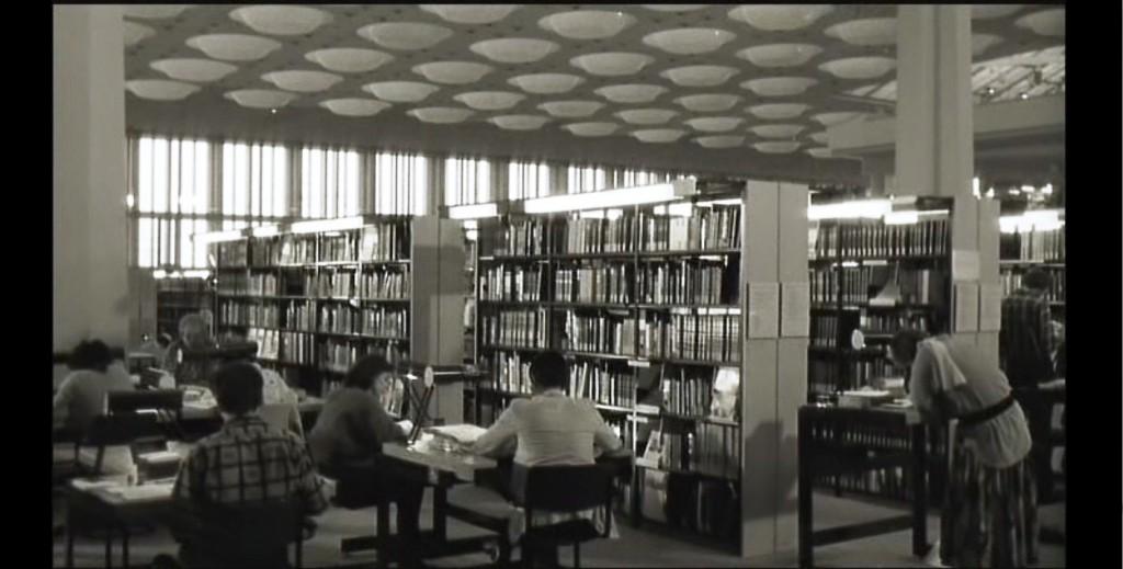 Image extraite du film de Wim Wenders : les Ailes du désir