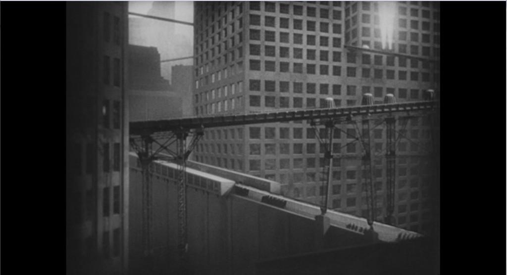Image extraite de Metropolis de Fritz Lang