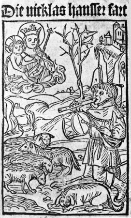 Hans Böheim dit petit Jean, le joueur de fifre de Nicklashausen