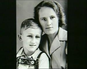 Heiner Müller et sa mère