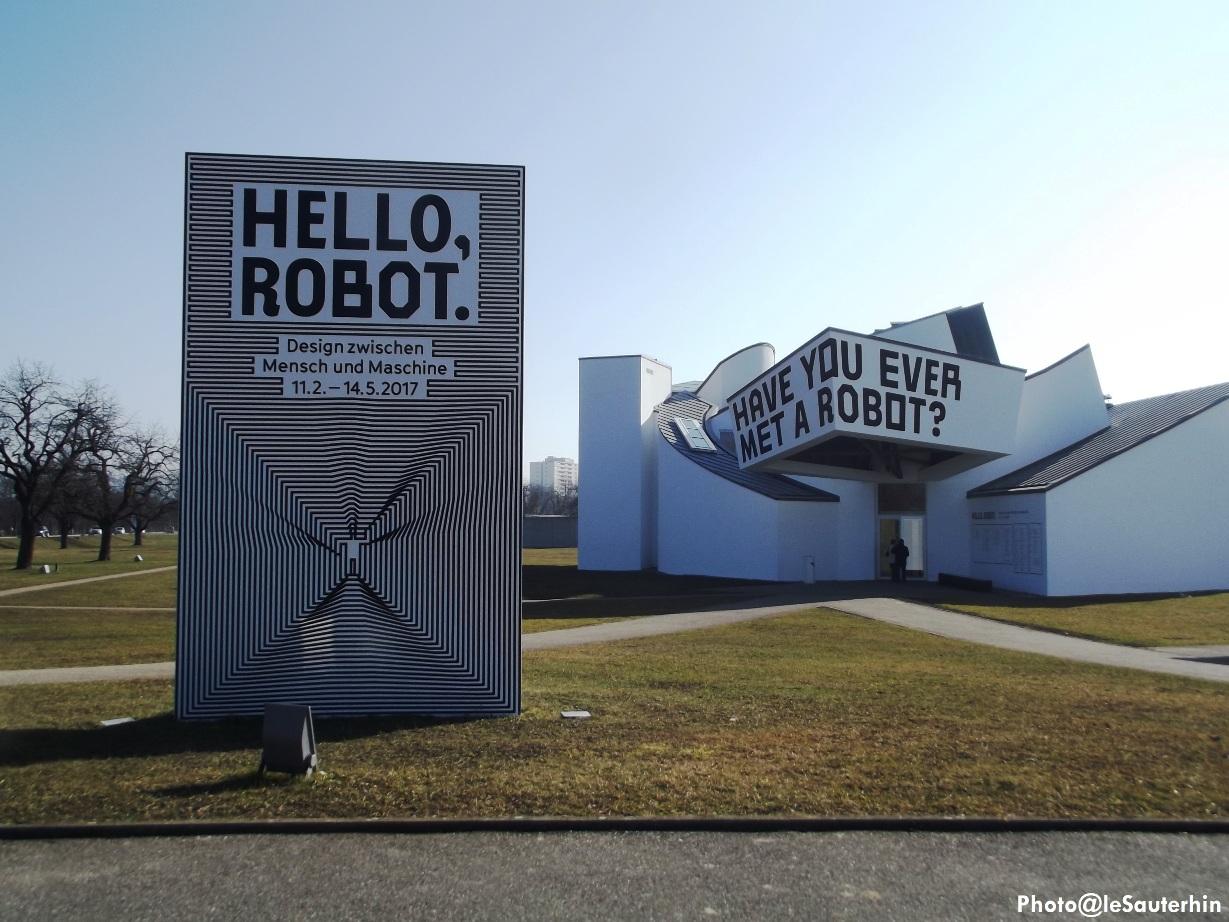 Visite à l'exposition Hello, Robot